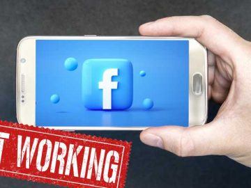 Facebook is not working on android phone