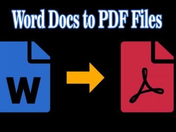 Best Tool to Convert Word Doc to PDF