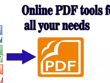 Online PDF Tools for All Your Needs