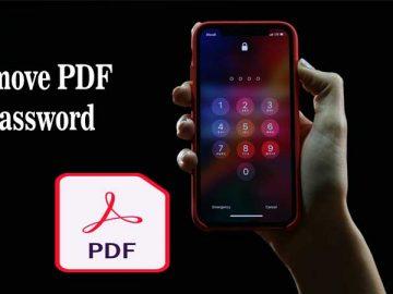 How to Remove PDF Passwords