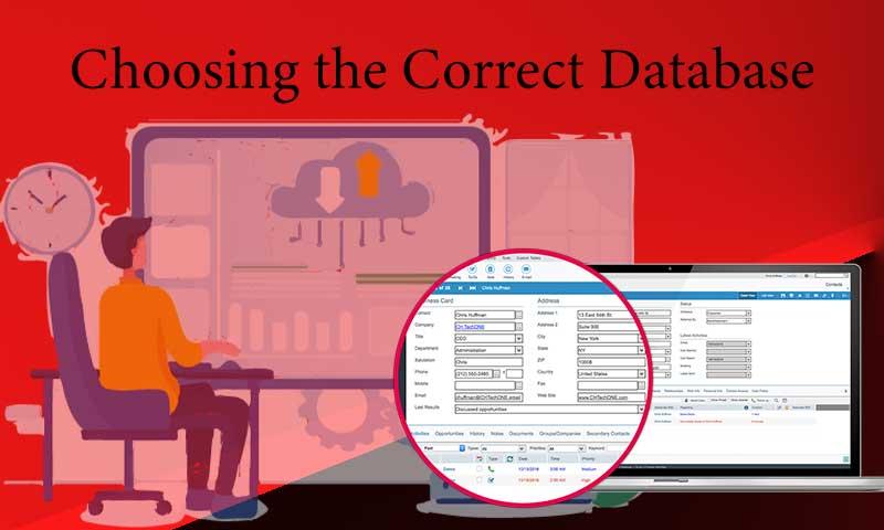 Choosing the Correct Database